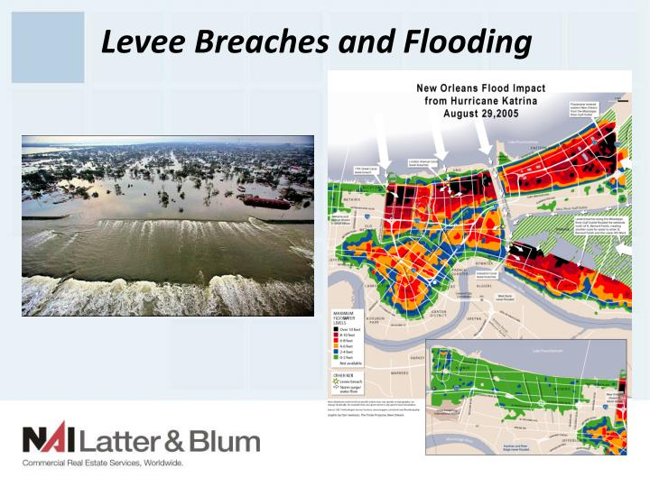 Levee Breaches and Flooding