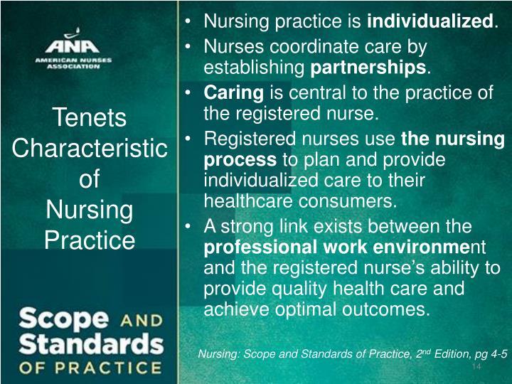 characteristics of professional nursing This defi nition encompasses four essential characteristics of nursing: tion of professional nursing and the scope nursing's social policy statement nursing.