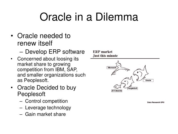 Oracle in a Dilemma