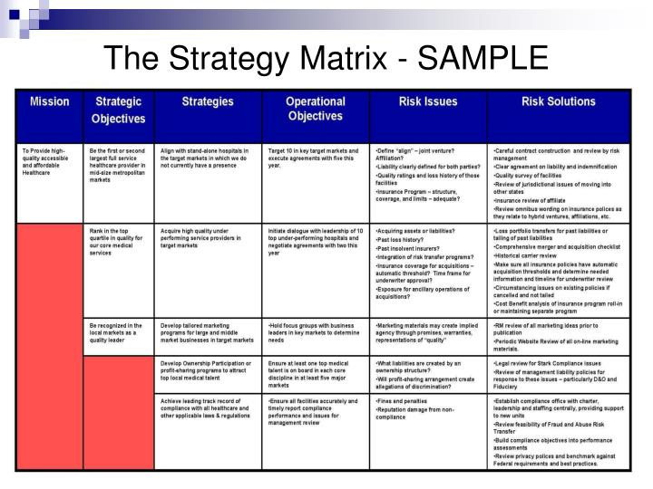 Risk Essment Template Not For Profit on