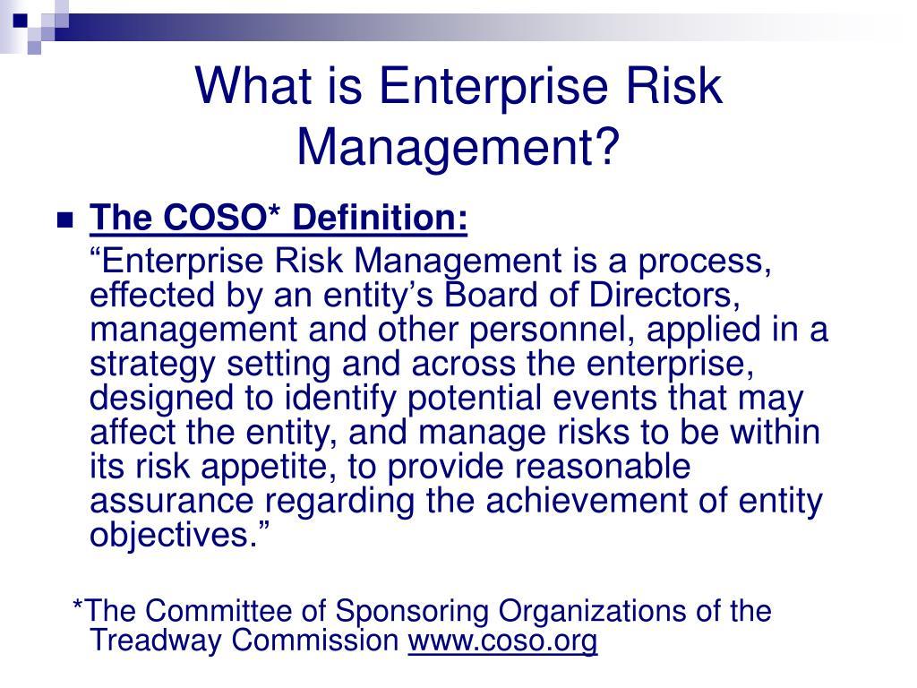 Corporate Risk Management Definition