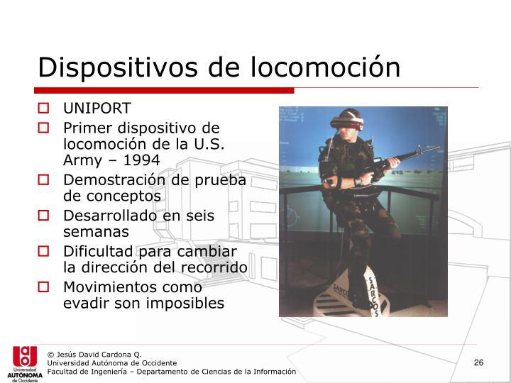 Dispositivos de locomoción