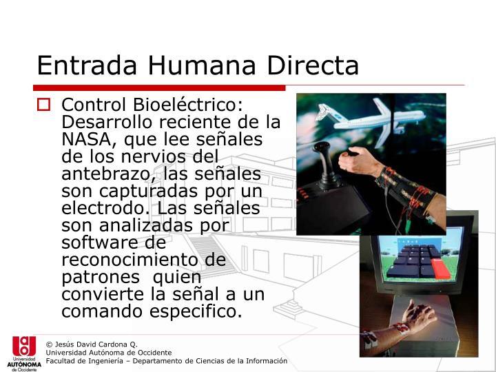 Entrada Humana Directa