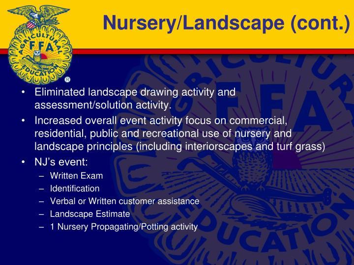 Nursery/Landscape (cont.)