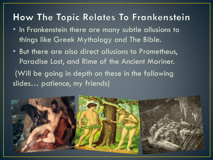 use of literary device in frankenstein Frankenstein questions and answers the question and answer section for frankenstein is a great resource to ask questions, find answers, and discuss the novel.