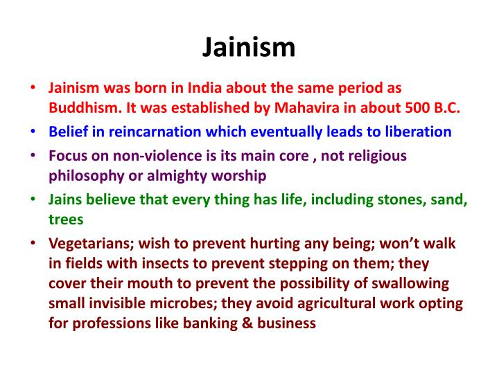 about jainism and buddhism