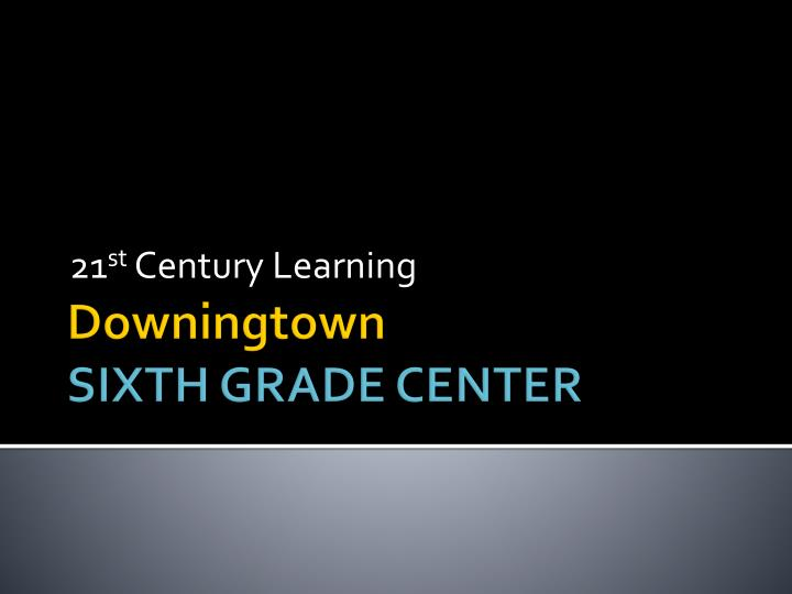21 st century learning n.