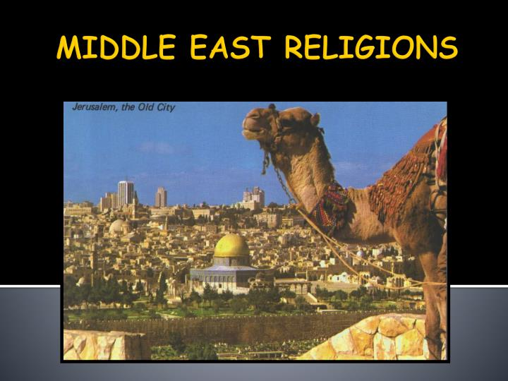 middle east religions n.