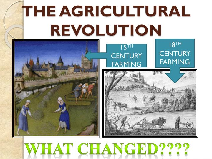 the agricultural revolution n.