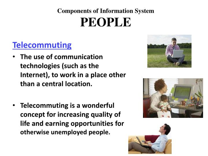 an introduction to and a definition of telecommuting Keywords— benefit of implementing, cloud computing  telecommuting, teleworking i introduction eleworking means working off-site, generally via a.
