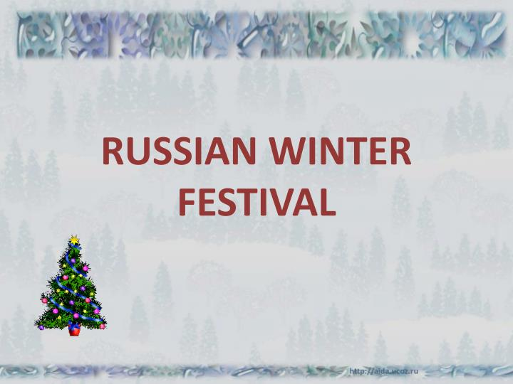 russian winter festival n.