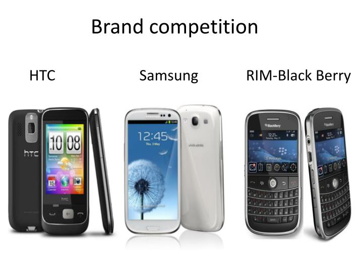 Brand competition