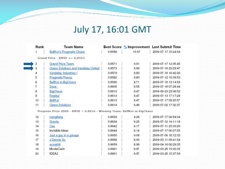 July 17, 16:01 GMT