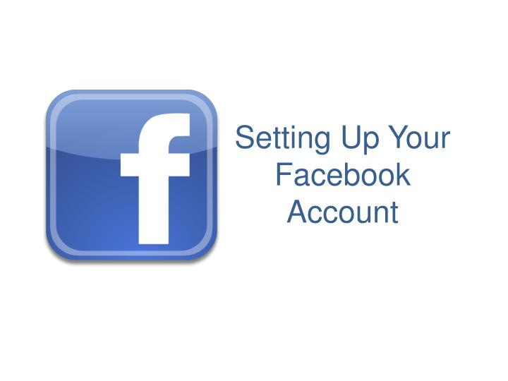 setting up your facebook account n.