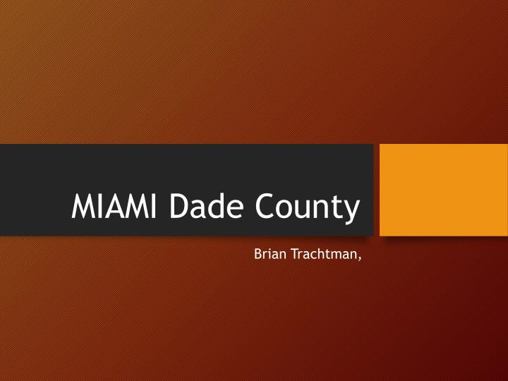 miami dade county n.