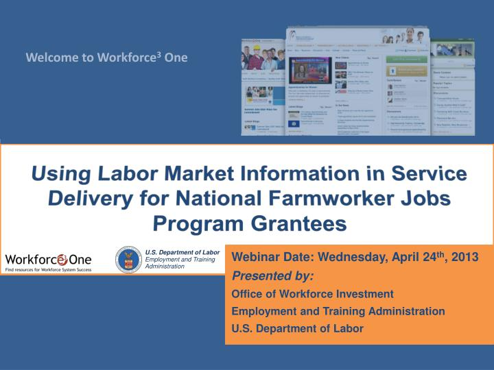 using labor market information in service delivery for national farmworker jobs program grantees n.
