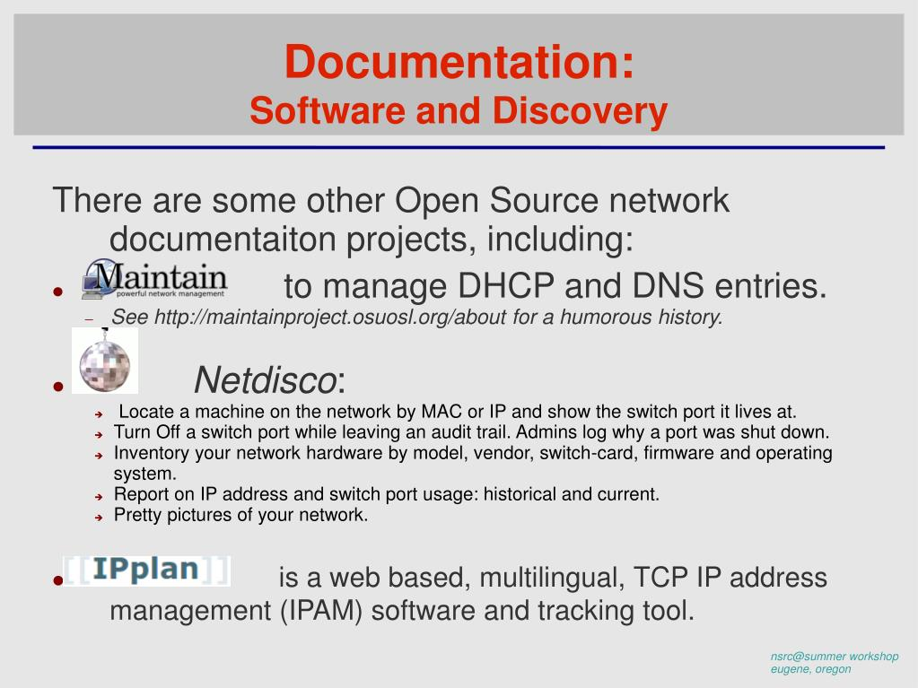 PPT - Network Management & Monitoring Overview PowerPoint