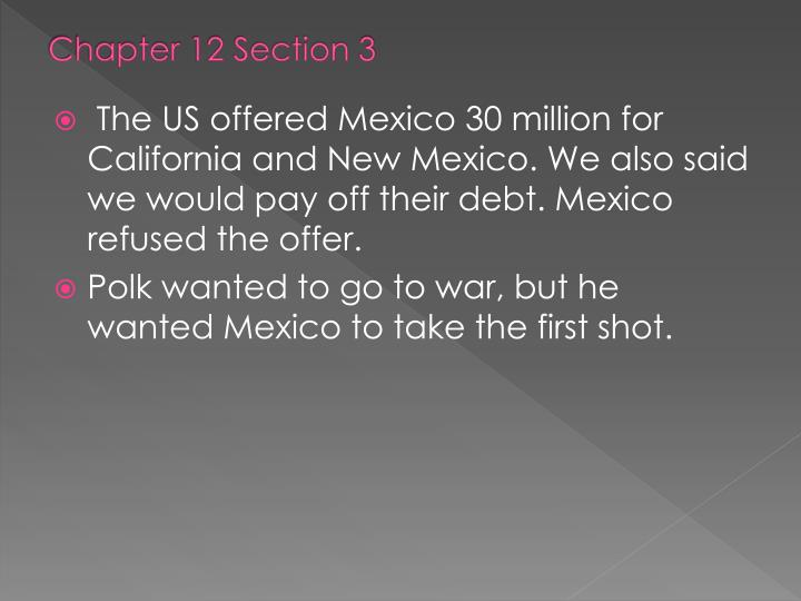 Chapter 12 Section 3