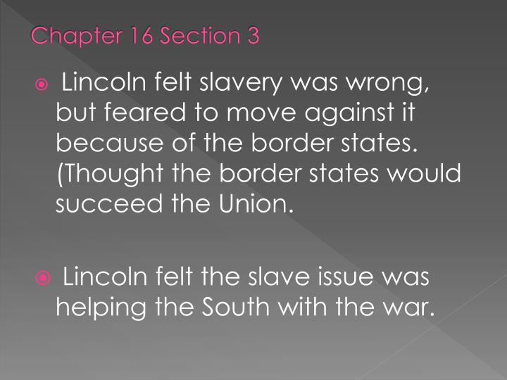 Chapter 16 Section 3