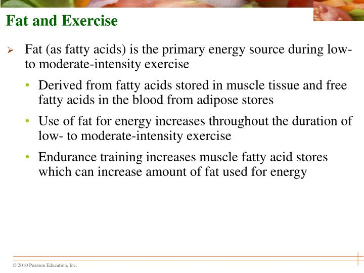 Fat and Exercise