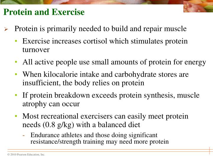 Protein and Exercise