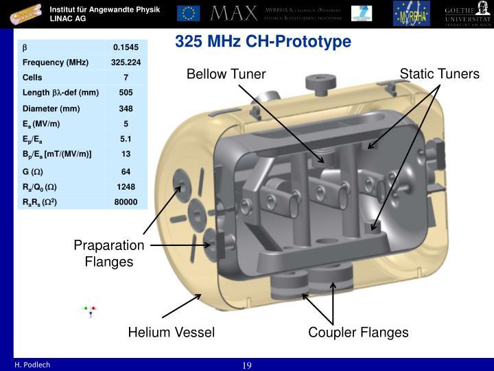 325 MHz CH-Prototype