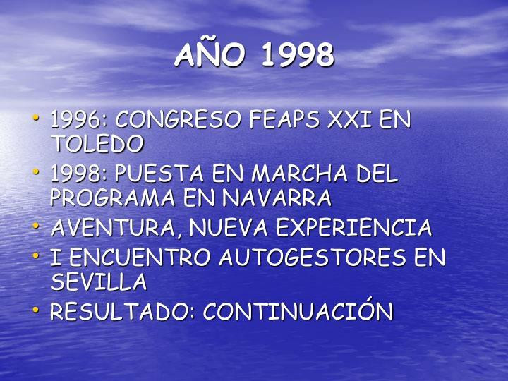 A o 1998