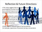 reflection future directions