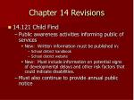 chapter 14 revisions20