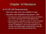 chapter 14 revisions50