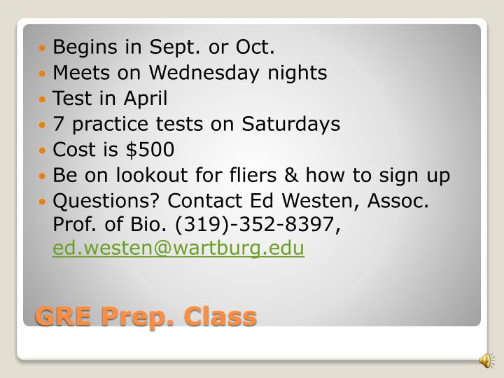 Begins in Sept. or Oct.