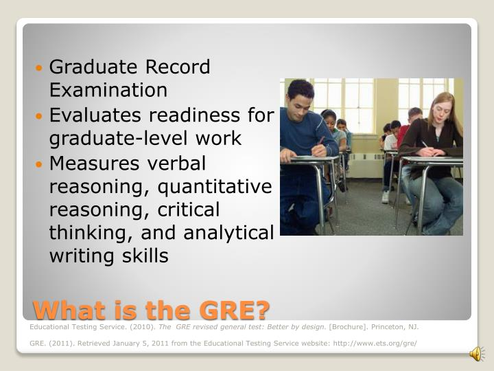 What is the gre