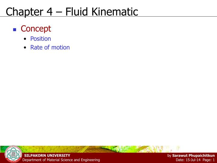 chapter 4 fluid kinematic n.