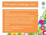 this week s challenge cont