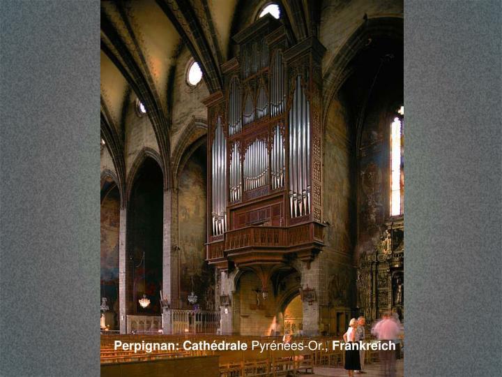 Perpignan: Cathédrale