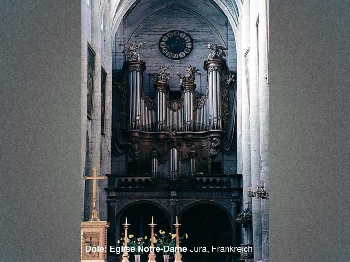 Dôle: Eglise Notre-Dame