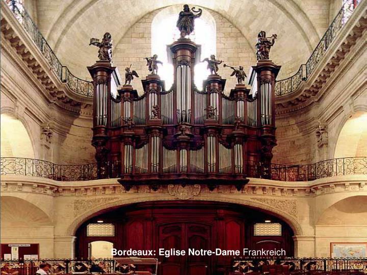 Bordeaux: Eglise Notre-Dame