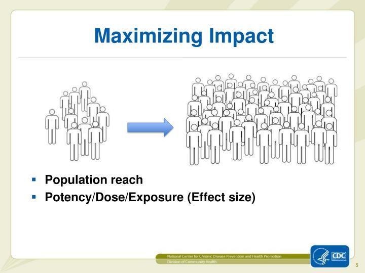 Maximizing Impact