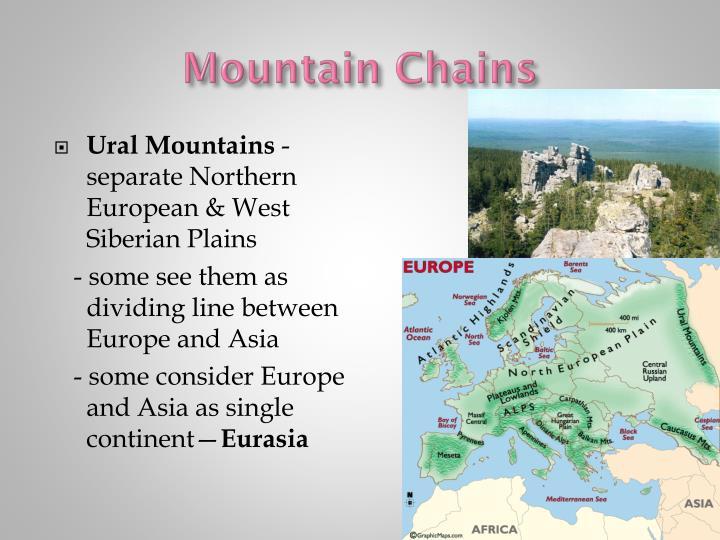 Mountain Chains
