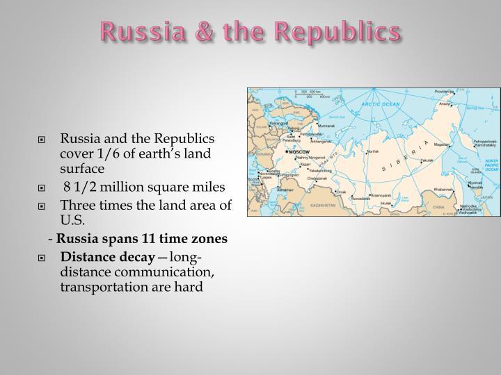 Russia & the Republics