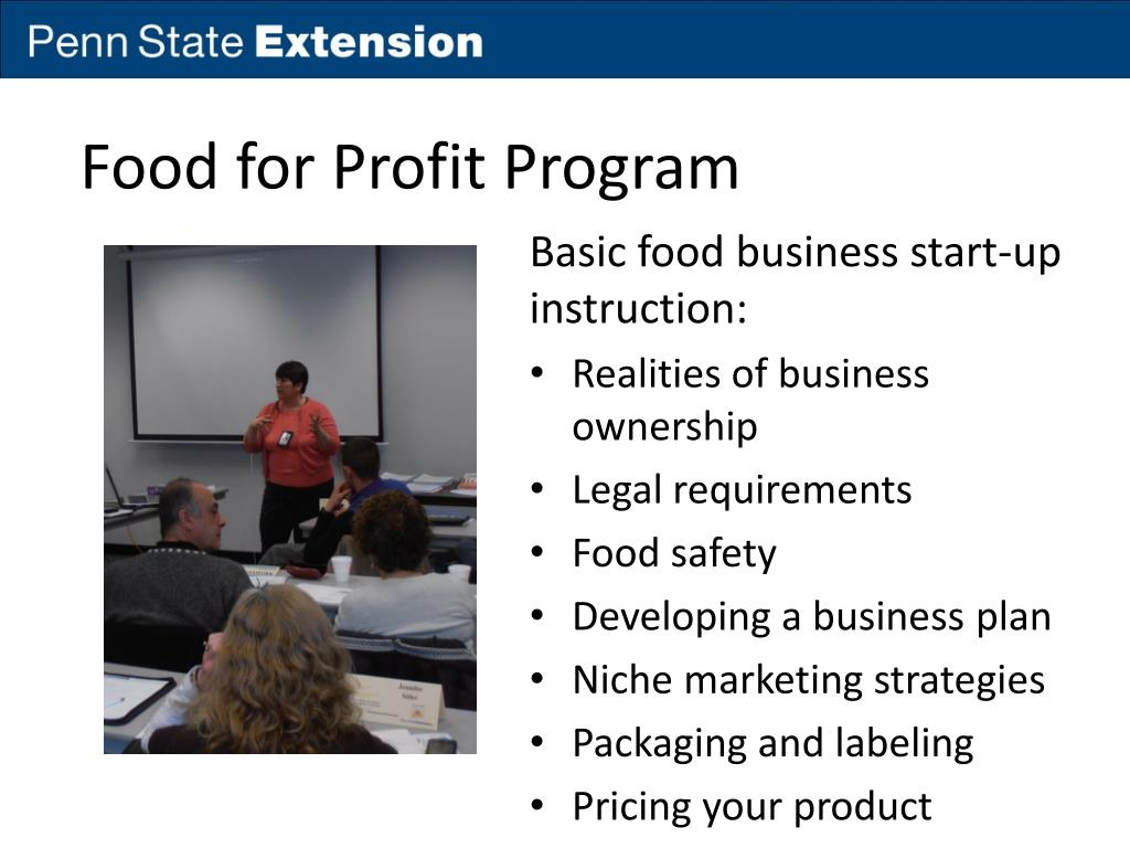 PPT - Food Business Risk Education – Assisting Women Farmers