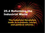 25 4 reforming the industrial world