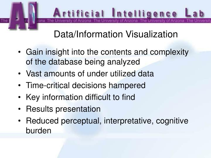Data/Information Visualization