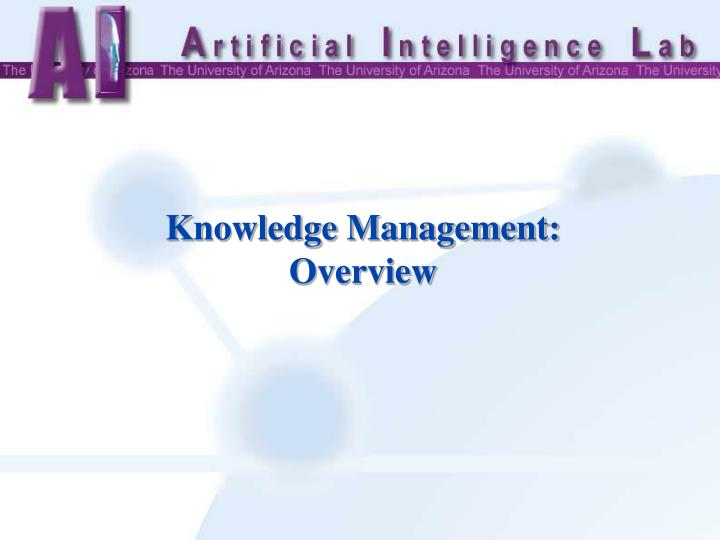 Knowledge Management: