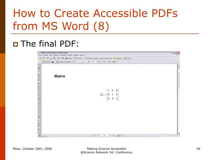 How to Create Accessible PDFs from MS Word (8)