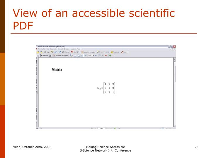 View of an accessible scientific PDF