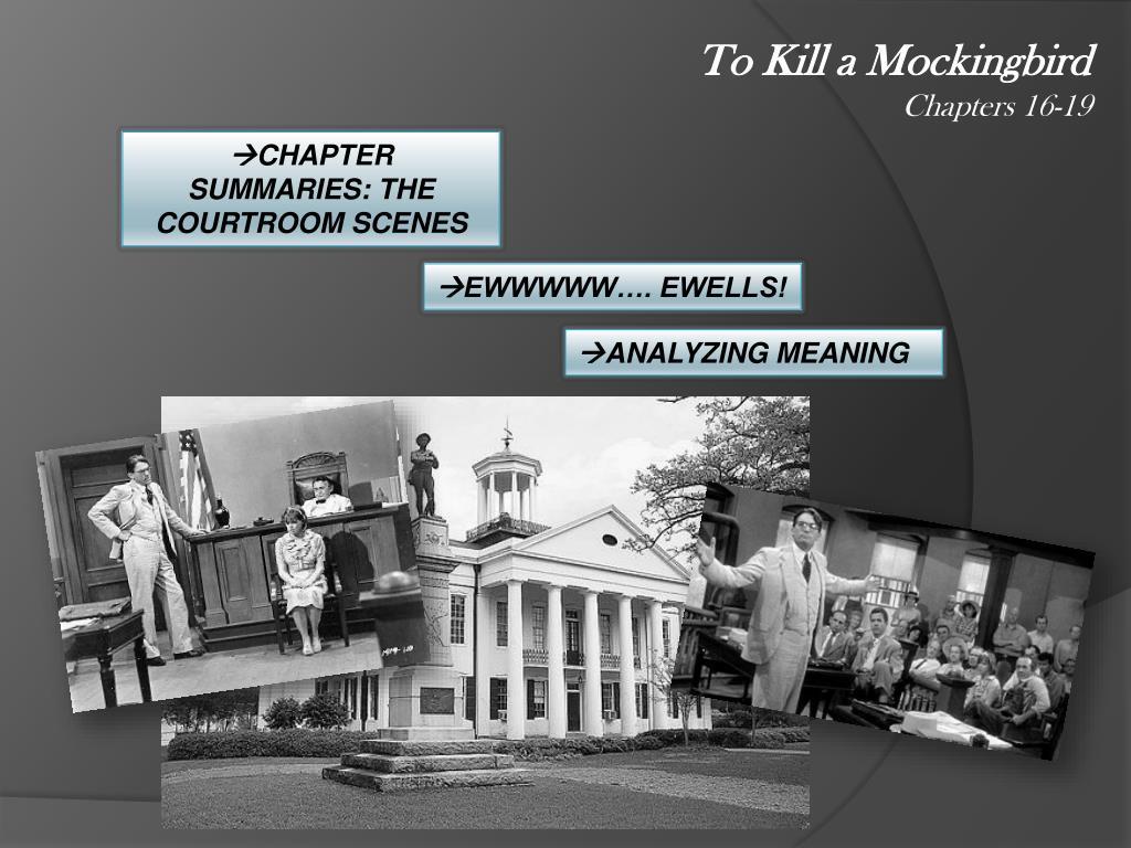 to kill a mockingbird chapter themes