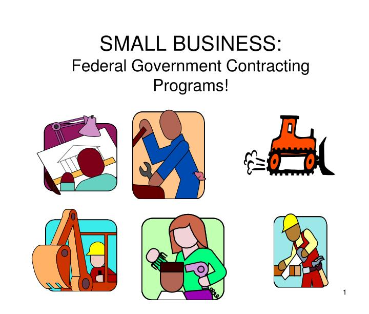 small business federal government contracting programs n.
