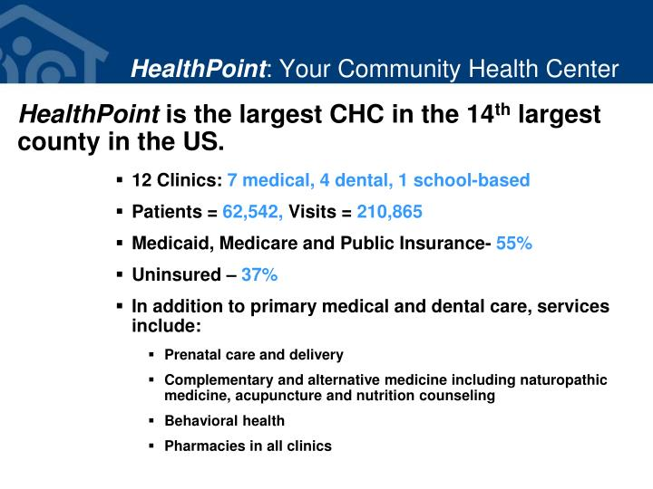 Healthpoint your community health center