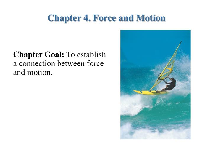 chapter 4 force and motion n.